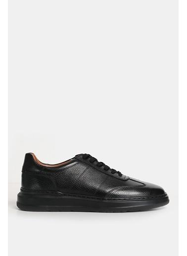 Lufian Toledo Süet Sneaker  Siyah